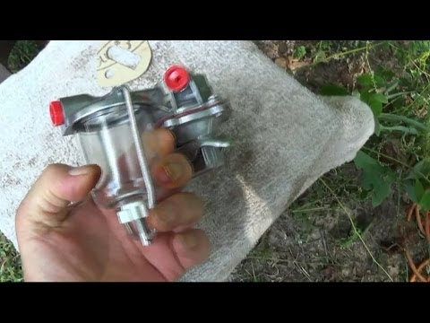 How to install a Fuel Pump on a Diesel Tractor
