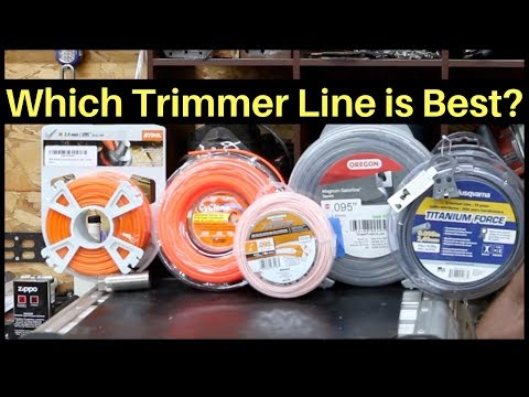Which Trimmer Line is Best? Let's find out!