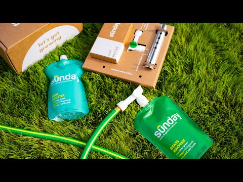 Sunday - A new kind of lawn care. Easier, smarter, better for people, pets, and planet.
