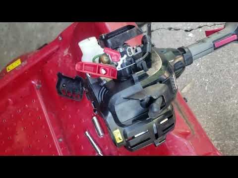 How to fix weed eater that got wet from rain water