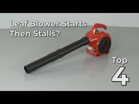 Top Reasons Leaf Blower Starts Then Stalls — Leaf Blower Troubleshooting