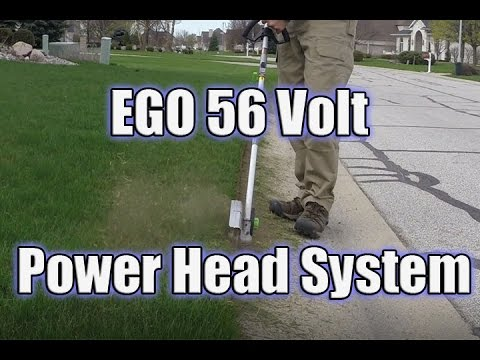 Ego 56V Power Head System Review - String Trimmer, Pole Saw, Lawn Edger