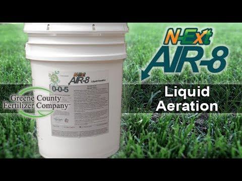 N-ExtAir-8™ Liquid Aeration - Greene County Fertilizer Company
