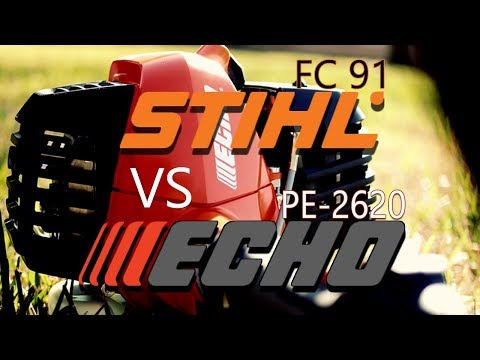 STIHL FC91 vs ECHO PE 2620 EDGER / Opinions & Thoughts!