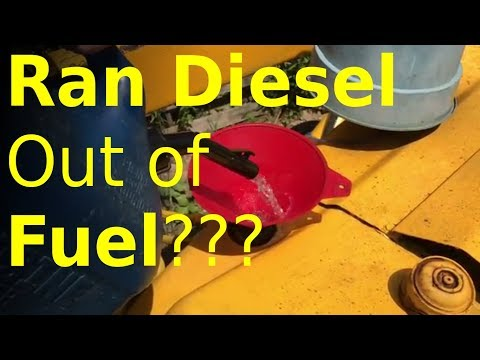 BEST way to bleed diesel fuel system (step-by-step)