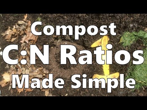 Compost Carbon:Nitrogen Ratios Made Simple 💩