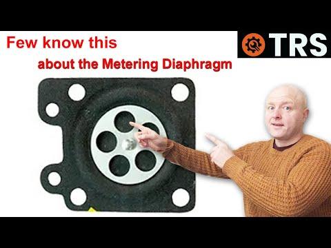 Carburetor Metering Diaphragm - 'HOW IT WORKS' - 2-Stroke Carburetor