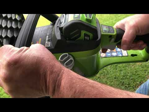How To Start A Greenworks Chainsaw