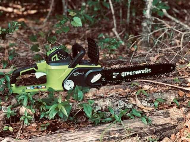 Greenworks Electric Chainsaw: How To Start, Use, & Maintain