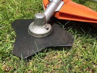 The brush cutter attachment allows the Stihl KombiSystem to chew through foliage too tough for a traditional string trimmer.