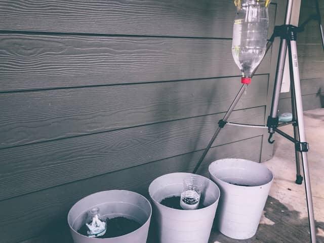 Testing Popular DIY Plastic Bottle Drip Irrigation Solutions