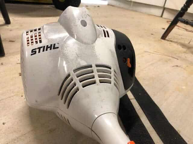 Alternatives for greasing a stihl trimmer