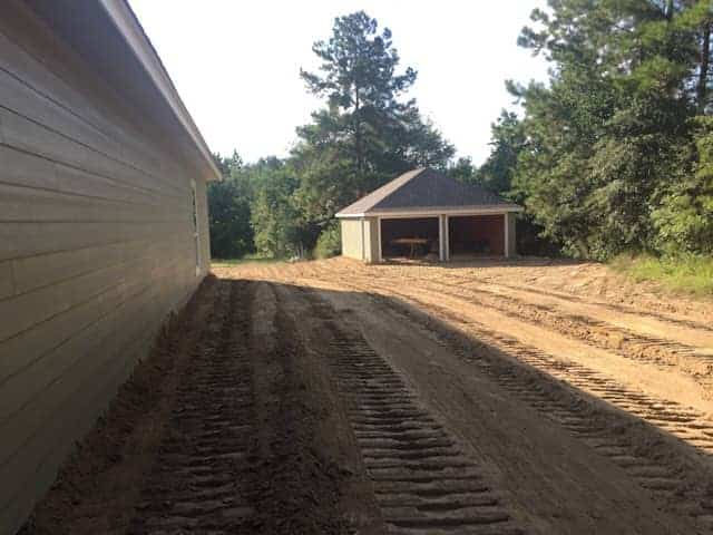 Preparing clay soil for grass seeds