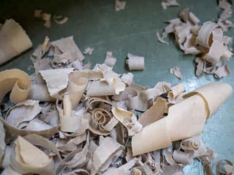 shredded cardboard for worm composting