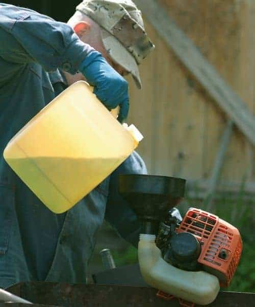 The quality and age of gas and oil can effect the performance of your weed eater or any two-stroke small engine.
