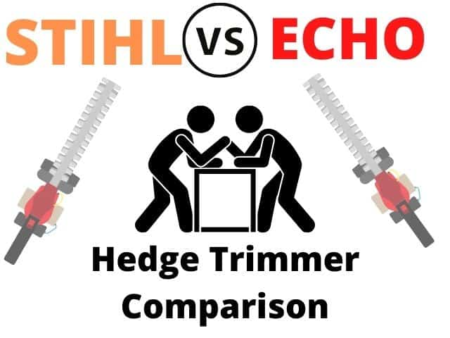 Stihl Vs. ECHO: Who Makes The Best Hedge Trimmer?