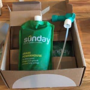 Sunday Lawn Care Subscription Box