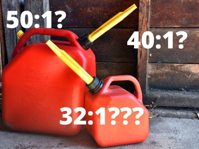 String Trimmer Gas To Oil Ratio By Brand