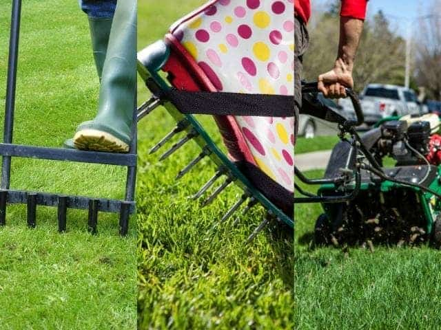 Comparison of soil aeration methods - pros and cons